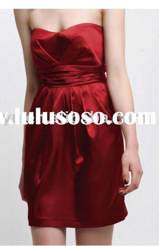 Hot Red Party Dress