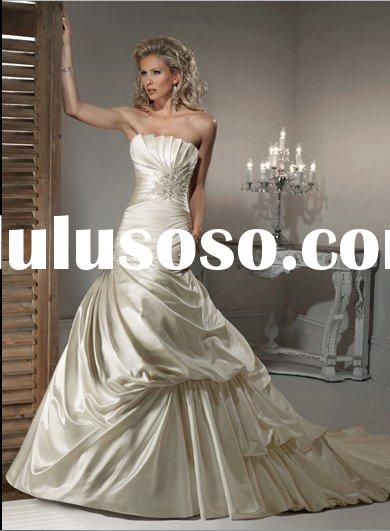 MG072 popular wedding dress