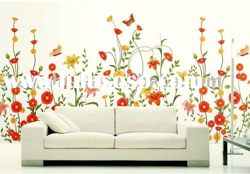 wallpaper murals. Silk wallpaper murals