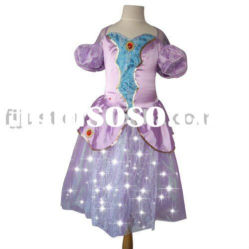 Special Light Up cosplay bumble bee dress up games for girls costumes