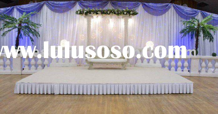 Stage Wedding Photo Wedding Stage With Decoration