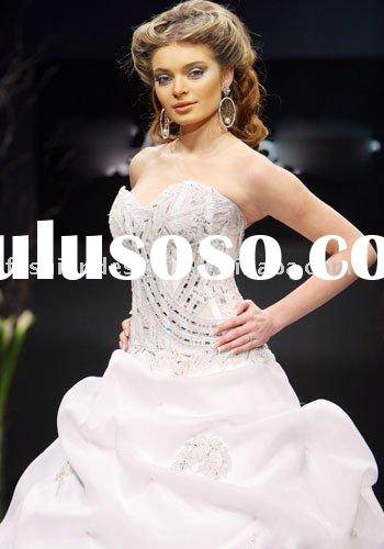 YS216  2011  fashion arabic crystals bridal wedding dresses muslim  wedding dresses
