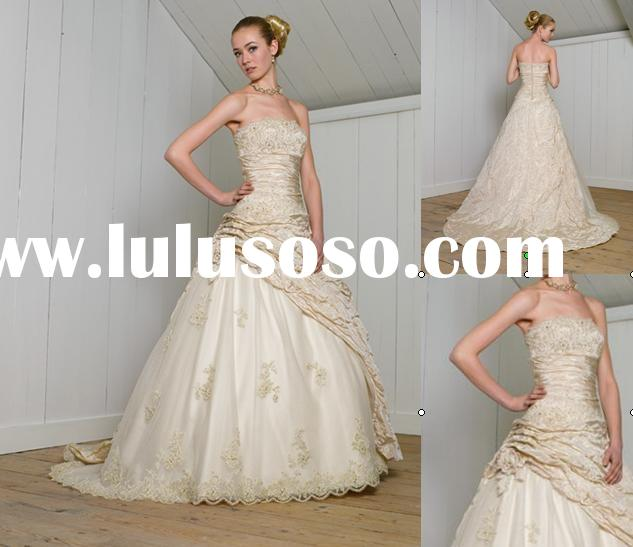 Description of the cheap wedding dress hs40ConditionMade to orderColorMany