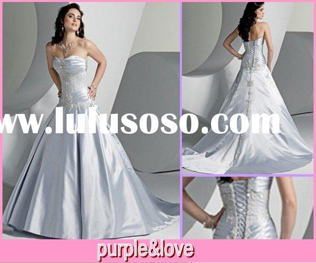 elegant wedding dress wd279