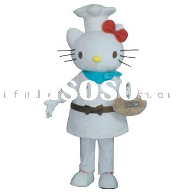 hello kitty/fancy dress;fur costume
