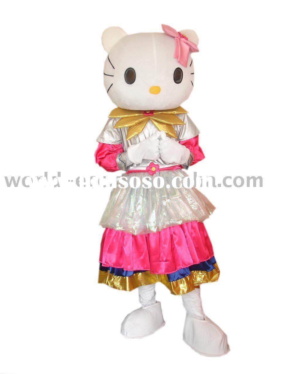 popular Hello Kitty Costume, Mascot Costume,cartoon mascot