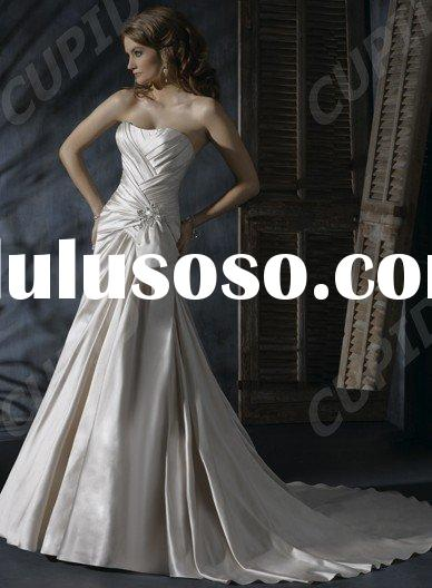 vintage Glamorous mermaid butterfly wedding dresses