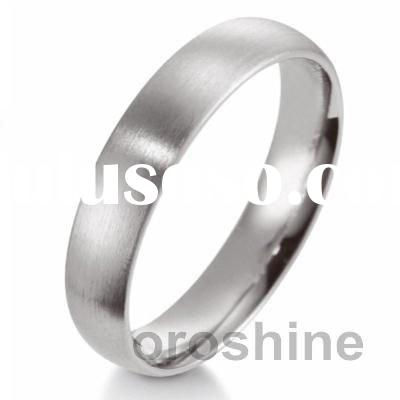 titanium gold wedding band We are tungsten ceramic jewelry manufacturer in