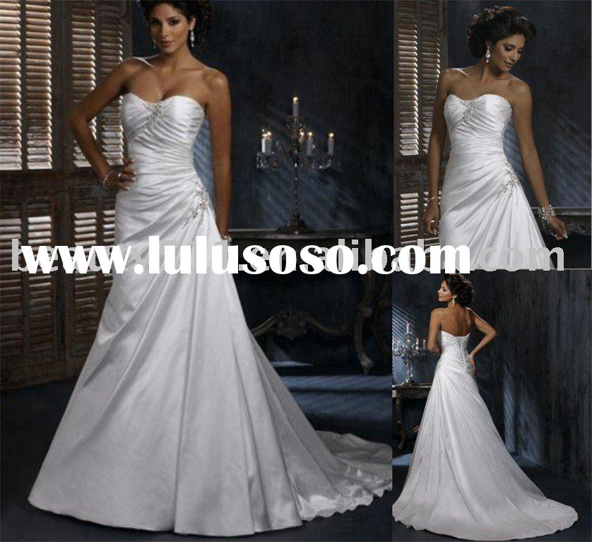 2010 maggie sottero summer new style wedding dress bridal dresses bridal gown WDAH0274