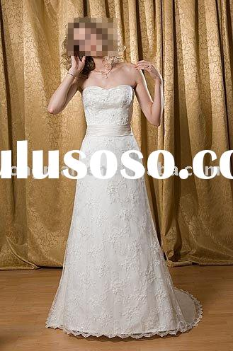 2010 royal sweet heart wedding dress HQ-0159
