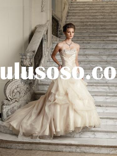 2011 New Victorian Ball Gown Wedding Dresses