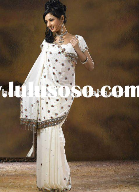 Bridal Saree Blouses Designs Special Appliqued