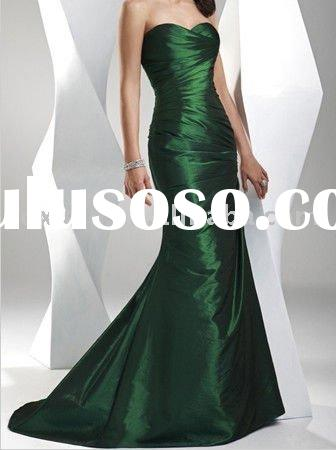 Emerald Green   Evening Dress 2011