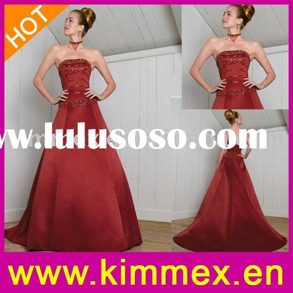 Gorgeous Red Wedding Dress Specification Item NameRed Wedding