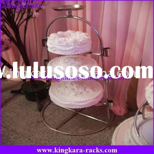 Kingkara KAWCST-0032 square wedding cake stands