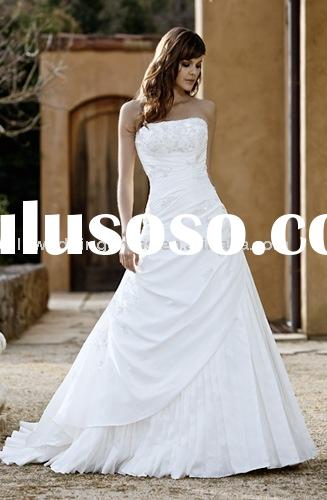 Lace wedding gown WG0244 Details 1 Fashion style2 Competitive price3 High