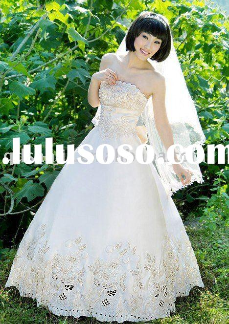MB01.Custom-Made bridal wedding dress,wedding gown,bridal gown ,bridal veil -FREE SHIPPING