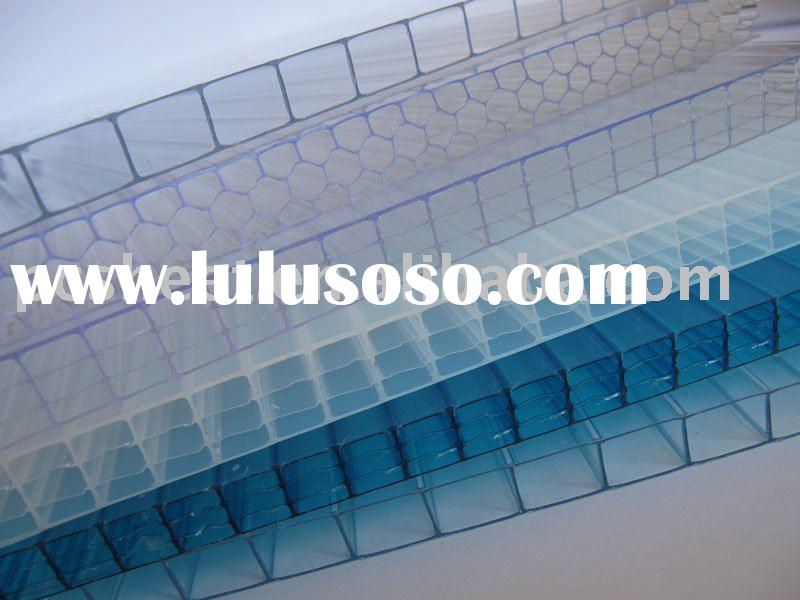 Multi-wall polycarbonate sheet for building