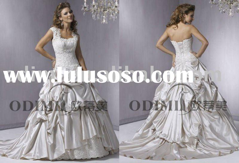 New Design Sleeveless Ball Gown Wedding Dress 2011
