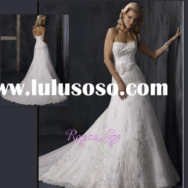 Princess Style Bella Swan Simple Ball Gown Wedding Dresses
