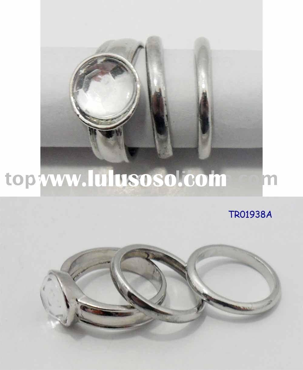 Three Piece Wedding Ring SSets