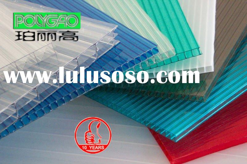 UV protected polycarbonate sheet