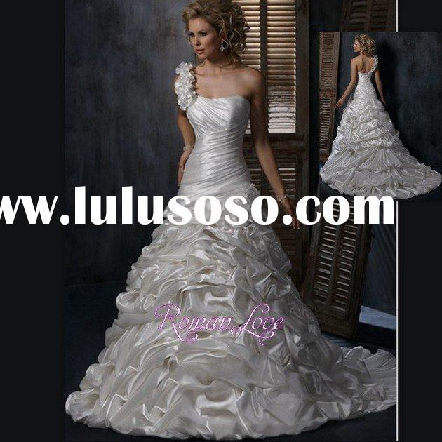 Victorian Style Modest Medieval Designed Ball Gown Wedding Dresses