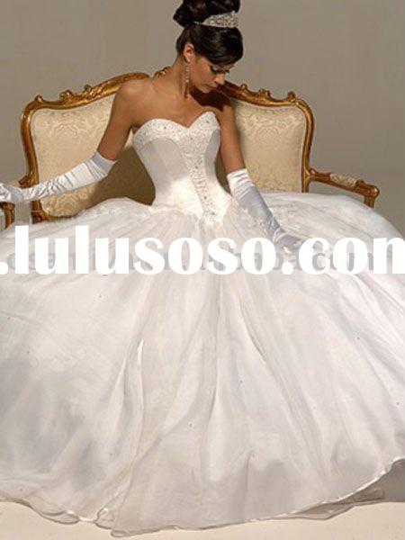 WK-449 fashion ball gown bridal wedding dress