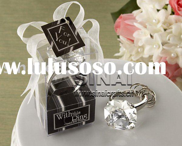 Wedding Clear Crystal Diamond Napkin Ring