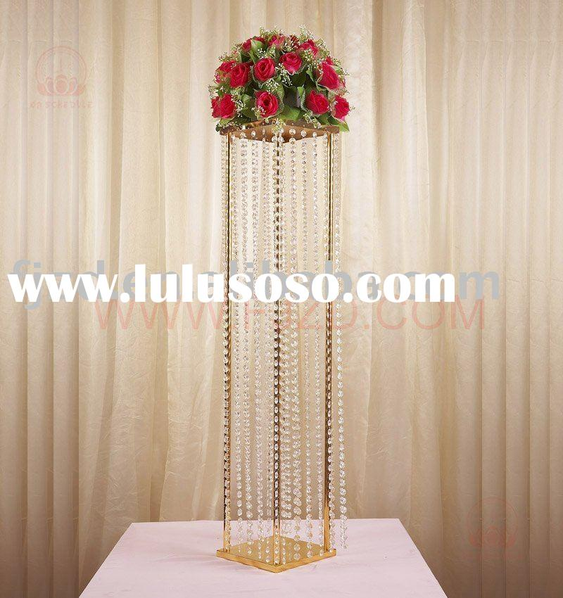 Wedding Decoration Crystal four directions road Lead