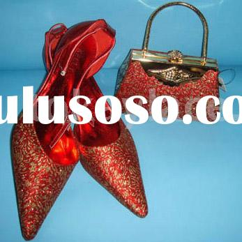 Wedding shoes and matching bag,party shoes and bag,shoes and bag
