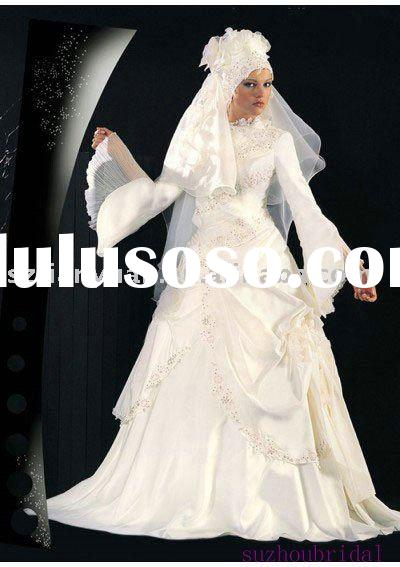 muslim wedding gowns
