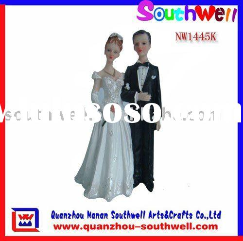 polyresin wedding cake toppers