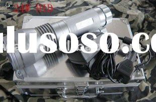 24W HID LED flashlight