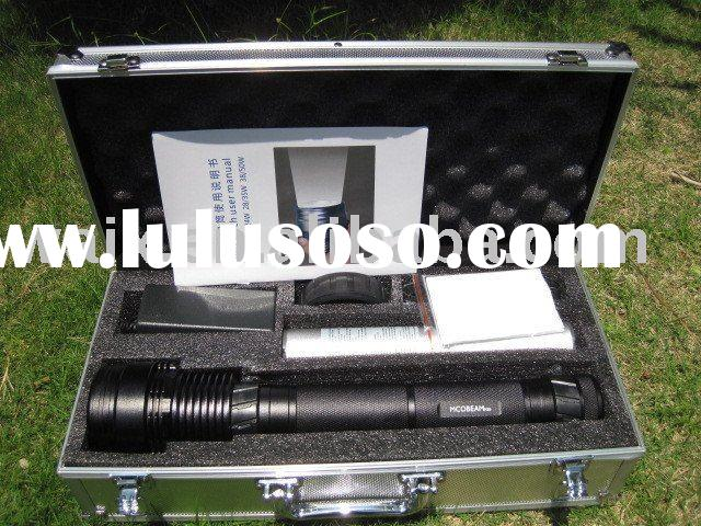 35W HID LED flashlight