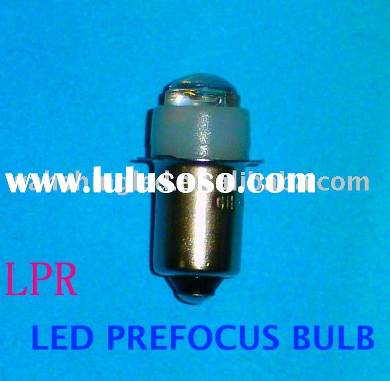 LPR 0.5W Flange Base LED Bulbs Replacement For Flashlight