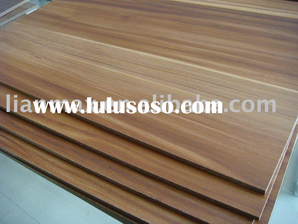 Melamine Faced MDF(Material for wardrobe,cabinet,desk and other furniture)