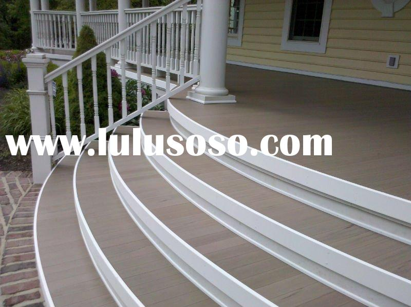 PVC&Wood Composite decking