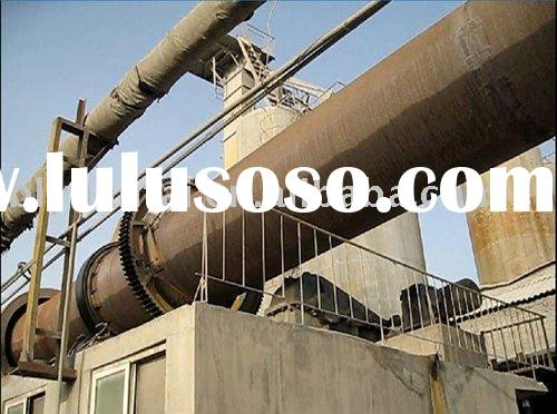 Rotary kiln to calcinate limestone,dolomite,hematite and other materials