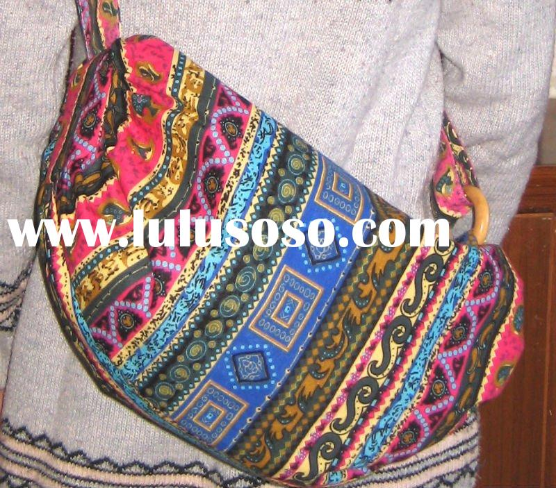 bags handbags fashion 2011 newest design fabric cotton bag cute for ladies