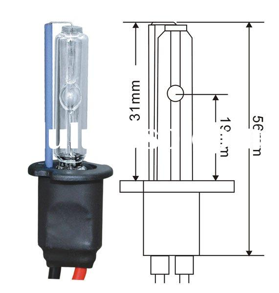 hid bulb flashlight