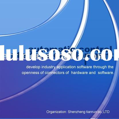 Automatic control interface software website design and software development