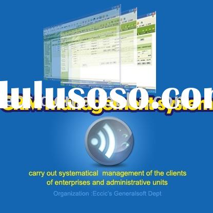 CRM software and client resource management software development and software design
