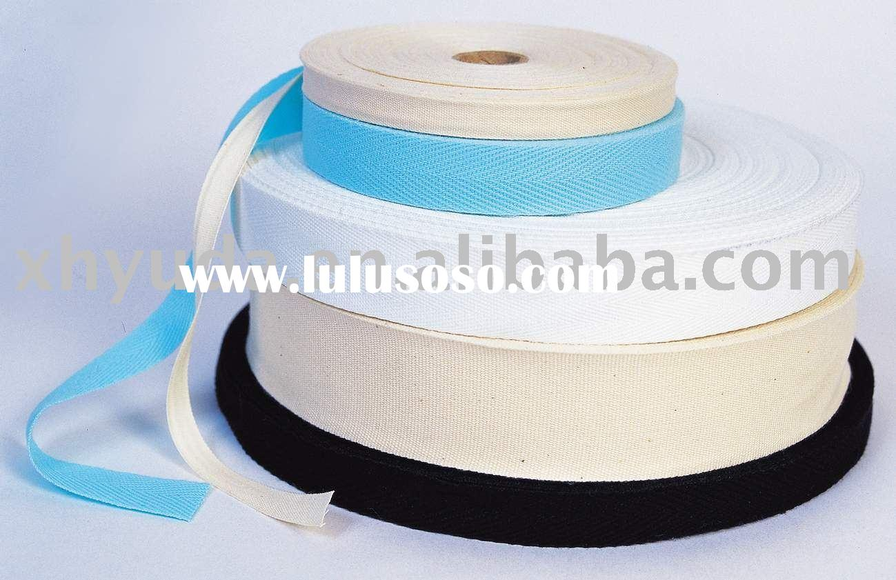 Cotton Webbing Cotton Straps Cotton Tape