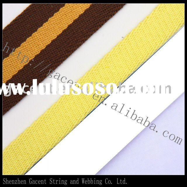 Cotton webbing strap