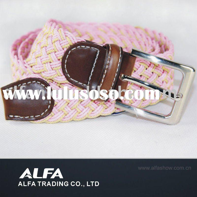 Lady Nylon Webbing Belt