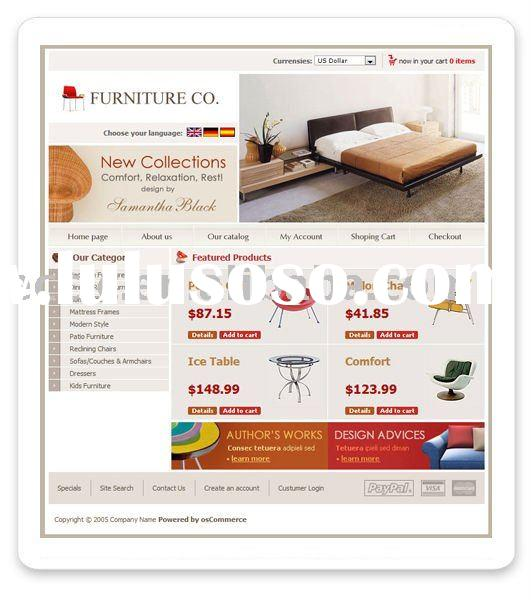 Low Cost Interior Or Furniture Ecommerce Website Development Service