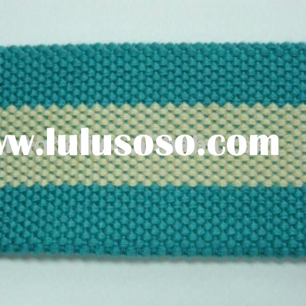 Natural cotton webbing for belt,cotton band,cotton tape