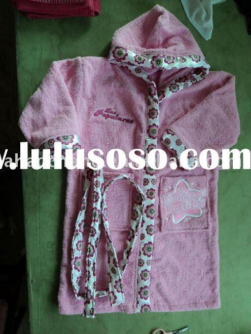 Bathrobe For Kids Tutorial