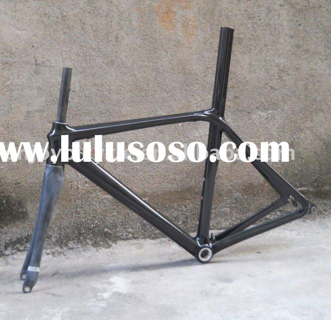 carbon ISP road bike frame internal routing